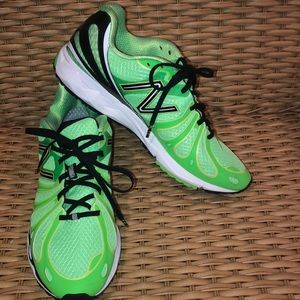 Green New Balance Sneakers
